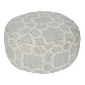 Weaver Green Footstool Kasbah Smoke