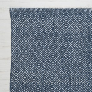 Weaver Green rug Diamond Navy zoom