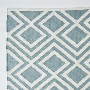Weaver Green Rug Iris Teal