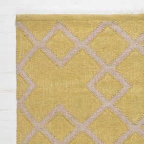 Weaver Green Rug Juno close