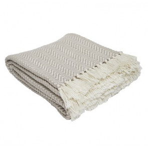 Herringbone Throw Chichilla