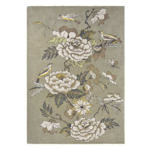 Wedgwood Rug | Paeonia Taupe Neutral 37904 | Custom Size