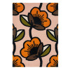 Orla Kiely Rug | Passion Flower Pink 059602
