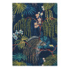Sanderson Rug | Rain Forest Tropical Night 50708 | Custom Size