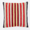 Weaver Green Cushion | Regimental Stripe
