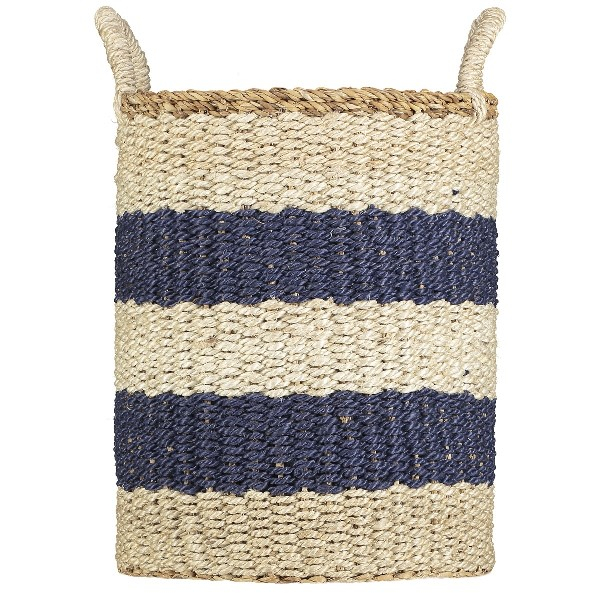 Braided Rug Basket