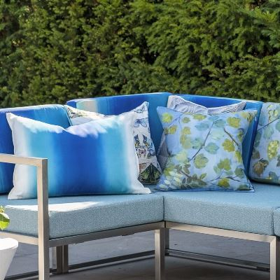 Designers Guild outdoor cushions